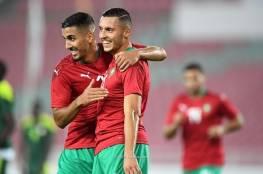 شاهد.. المغرب تضرب السنغال بثلاثية