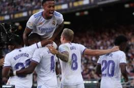 ريال مدريد يحسم الكلاسيكو بالفوز على برشلونة في عقر داره (صور وفيديو)
