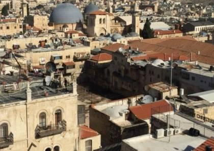 """القدس: الاحتلال الاسرائيلي يرمم """"بركة البطرك"""" ويزعم تعاون السلطة الفلسطينية"""