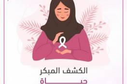 إحصائية حول سرطان الثدي في قطاع غزة لعام 2020