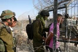 الاحتلال يعتقل شابا على حدود غزة