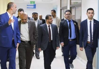 وفد من وزارة الصحة القطرية يصل غزة