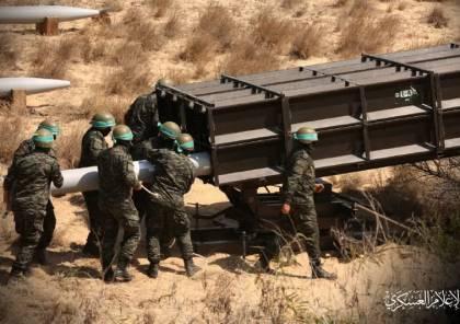القسام يعلن عن دخول صاروخ جديد الخدمة لأول مرة