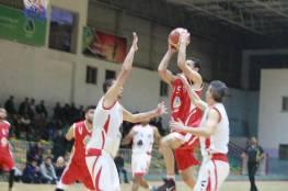 المغازي يؤكد فوزه على الرياضي ويلاقي البريج في نهائي دوري السلة