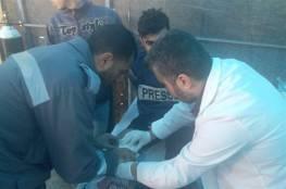 اصابة 43 مواطنا برصاص الاحتلال على حدود غزة
