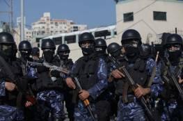 غزة: اصابة اثنين من رجال الشرطة اثناء مداهمة منزل به تجار مخدرات