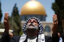 20 ألف مصلي يأدون صلاة الجمعة في المسجد الاقصى