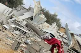 هدم منزل لأم و6 أبناء في خربة الوطن بالنقب