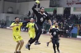 خدمات البريج يحسم قمة دوري كرة اليد