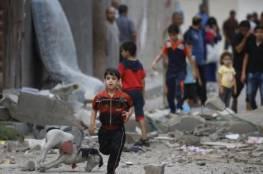 """مركز حقوقي يحذر من خطورة الاوضاع الانسانية: """" أطفال قطاع غزة يموتون ببطء فهل يتحرك العالم؟"""""""