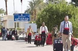 السلطات المصرية تعتقل إسرائيليين على معبر طابا