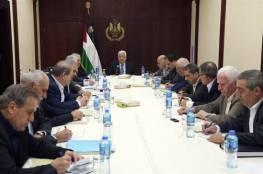 الرئيس : سنكون مضطرين لتنفيذ كل ما يؤكد عليه المجلس المركزي نهاية الشهر الحالي