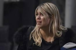 واندا زوجة إيكاردي تبكي: نريد البقاء في الإنتر