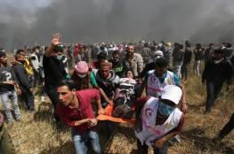 272 شهيد و 16722 جريح حصيلة اعتداءات الاحتلال على مسيرات العودة