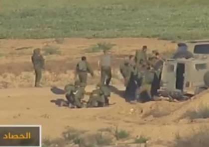 فيديو.. الجزيرة تبث فضيحة لجيش الاحتلال في محيط غزة