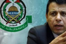 """مصادر من """"حماس"""" : علاقاتنا مع دحلان مستمرة لكن لن تكون بديلًا لـ """"فتح"""" بغزة"""