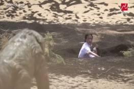 فيديو: ضحية رامز جلال الشهير يضرب مساعدة الأخير الجميلة