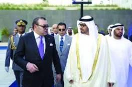 بن زايد يتلقى اتصالا هاتفيا من ملك المغرب