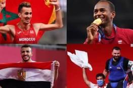 حصيلة ميداليات العرب بعد منافسات اليوم في أولمبياد 2020
