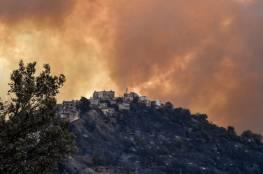 """""""بحر"""" يعزي الجزائر بضحايا حرائق الغابات في عدة ولايات فيها"""