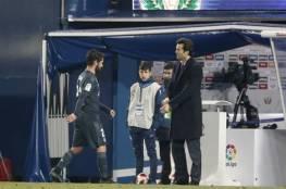 إيسكو متمسك بالبقاء في ريال مدريد ولكن !