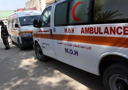 إصابة مواطن جراء انفجار قذيفة دبابة في غزة