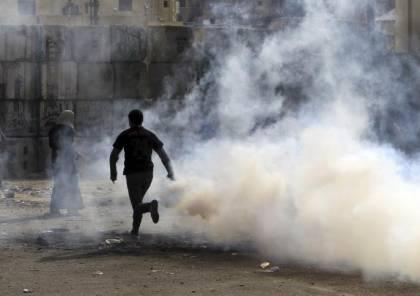 مواجهات مع الاحتلال في مخيم العروب واعتقال صحفي