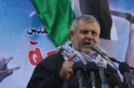 البطش يوجه دعوة للرئيس عباس.. ويؤكد المعركة مع الاحتلال مفتوحة ولن نتخلى عن مقدساتنا