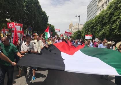 مسيراتان حاشدان في يافا وسخنين إحياء ليوم النكبة