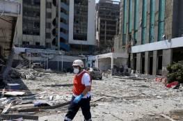 دمار وخراب في حي مار مخايل التراثي في بيروت ببناياته التي يفوق عمرها مئات السنين