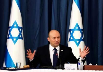 """تفسير بينيت لـ""""الوضع الراهن"""": لا ضم ولا دولة فلسطينية.. حكم عسكري حتى الطرد"""