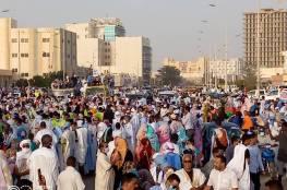 مسيرة حاشدة في موريتانيا نصرة للقدس وفلسطين