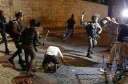 اصابتان خلال مواجهات مع الاحتلال في الشيخ جراح