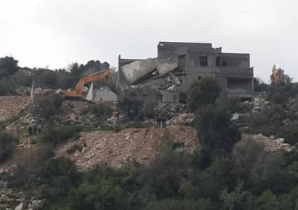 الاحتلال يهدم  منازل في وادي عارة بمنطقة المثلث الشمالي