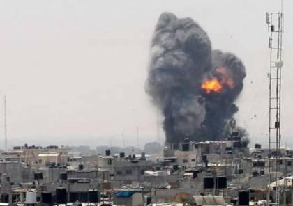استخراج قنبلة تزن 1000 كيلو غرام ألقتها طائرات الاحتلال على منزل بغزة