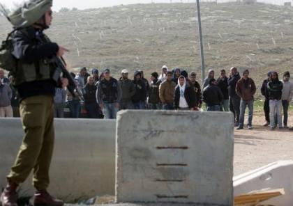 الاحتلال يمدد فترة السماح للعمال الفلسطينيين بالمبيت