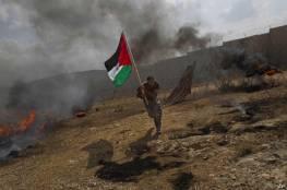 إصابات بقمع الاحتلال مسيرة رافضة لبؤرة استيطانية في دير جرير