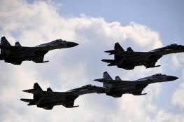 شاهد.. أحدث مقاتلات الجيش المصري تظهر في سماء الإمارات