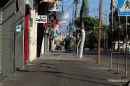 بدء سريان الإغلاق الكامل في قطاع غزة