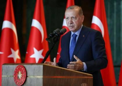 أردوغان : العنف الاسرائيلي يحظى بتشجيع دول عربية