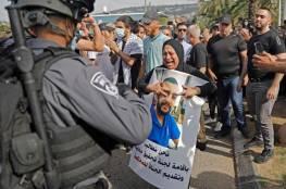 صور: مواجهات في عارة إثر استشهاد شاب مريض قتله حراس إسرائيليون بباحة المستشفى