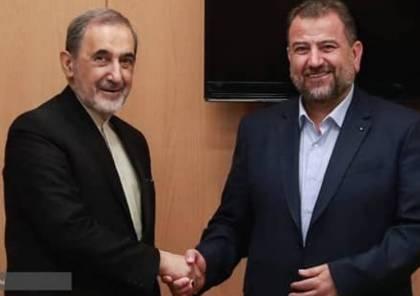 تفاصيل لقاء وفد حماس برئاسة العاروري مع مسؤول إيراني