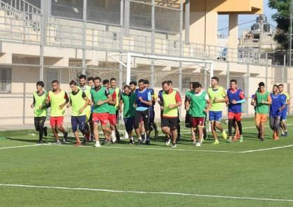 بيت حانون الرياضي يبدأ فترة الإعداد للموسم الجديد