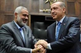 هنية يعزي الرئيس التركي بضحايا زلزال ألازيغ