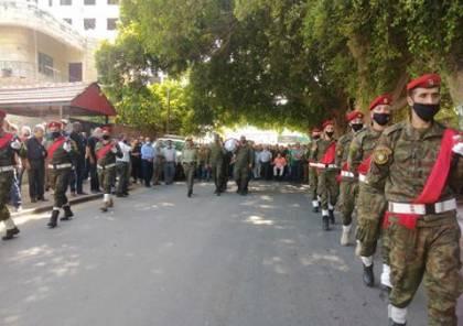 تشييع جثمان المناضل عدنان بليدي في طولكرم