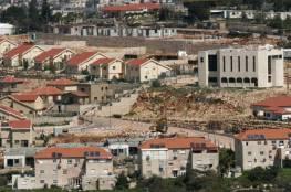 """وزير """"اسرائيلي"""": سنواصل البناء الاستيطاني في الضفة الغربية"""