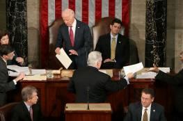 تعليق جلسة الكونغرس للمصادقة على الانتخابات