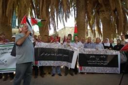 وقفة للمطالبة باسترداد جثامين الشهداء المحتجزة لدى الاحتلال بالخليل