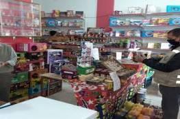 غزة: تحرير 40 محضر ضبط واتلاف بضائع ومنتجات منتهية الصلاحية
