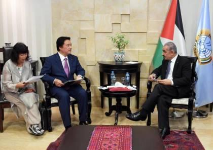 اشتية : لا يوجد تنمية حقيقية تحت الاحتلال واسرائيل تدمر أي فرصة لإقامة الدولة الفلسطينية